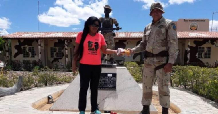 Durante comemorações de aniversário, Cipe-Caatinga arrecada meia tonelada de alimentos para doação
