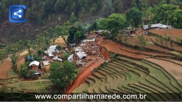 Terremoto afetou 8 milhões, mais de um quarto da populaçao do Nepal, diz ONU
