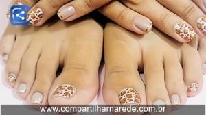 Decorar as unhas dos pés está com tudo!