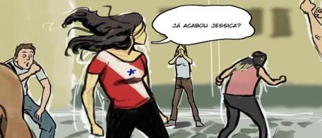 Jéssica ainda não acabou: 'heroína brasileira' vira história em quadrinhos